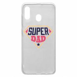 Чехол для Samsung A30 Super dad text