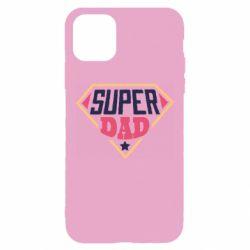 Чехол для iPhone 11 Pro Max Super dad text