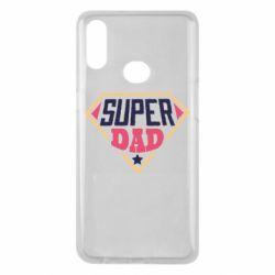 Чехол для Samsung A10s Super dad text