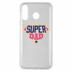Чехол для Samsung M30 Super dad text
