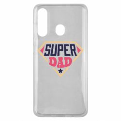 Чехол для Samsung M40 Super dad text