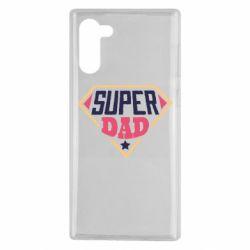 Чехол для Samsung Note 10 Super dad text