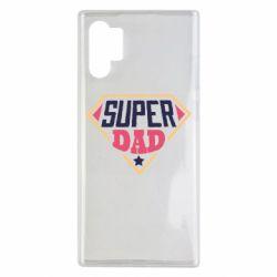 Чехол для Samsung Note 10 Plus Super dad text