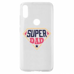 Чехол для Xiaomi Mi Play Super dad text