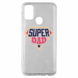 Чехол для Samsung M30s Super dad text