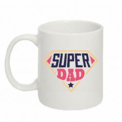 Кружка 320ml Super dad text