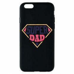 Чехол для iPhone 6/6S Super dad text
