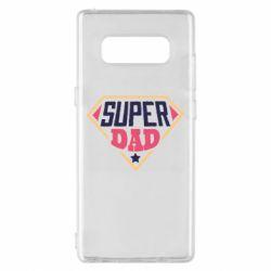 Чехол для Samsung Note 8 Super dad text