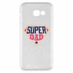 Чехол для Samsung A5 2017 Super dad text