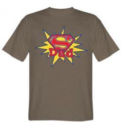 Мужская футболка Super Dad - FatLine
