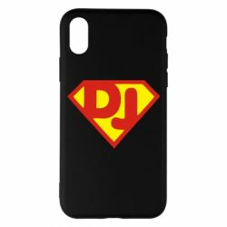 Чехол для iPhone X Super DJ - FatLine