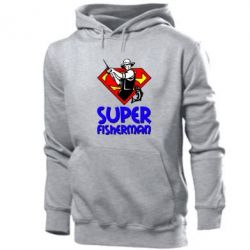 Мужская толстовка Super FisherMan - FatLine