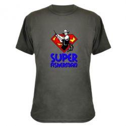 Камуфляжная футболка Super FisherMan - FatLine