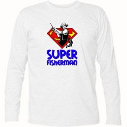 Футболка с длинным рукавом Super FisherMan - FatLine