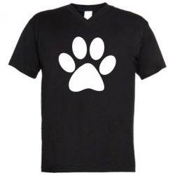 Чоловіча футболка з V-подібним вирізом Супер кіт