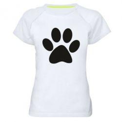Жіноча спортивна футболка Супер кіт