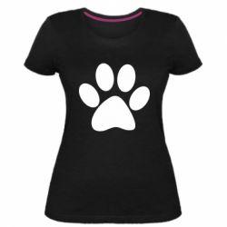 Жіноча стрейчева футболка Супер кіт