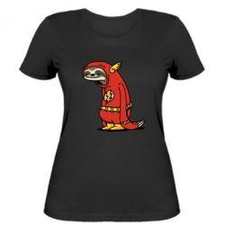 Женская футболка Super lazy flash