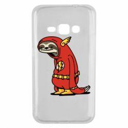 Чехол для Samsung J1 2016 Super lazy flash