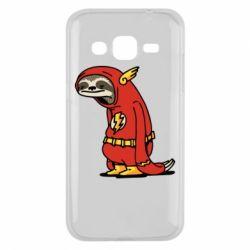 Чехол для Samsung J2 2015 Super lazy flash