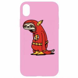 Чехол для iPhone XR Super lazy flash