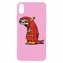 Чехол для iPhone Xs Max Super lazy flash