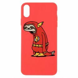 Чехол для iPhone X/Xs Super lazy flash