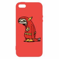 Чехол для iPhone5/5S/SE Super lazy flash