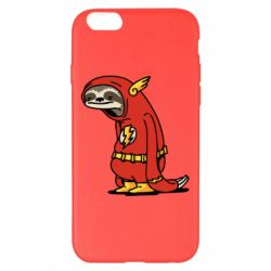 Чехол для iPhone 6 Plus/6S Plus Super lazy flash