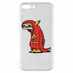 Чехол для iPhone 8 Plus Super lazy flash