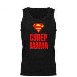 Мужская майка Супер Мама - FatLine