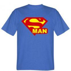 Мужская футболка Super Man - FatLine