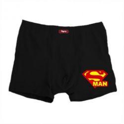 Мужские трусы Super Man - FatLine