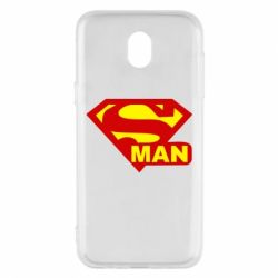 Чехол для Samsung J5 2017 Super Man
