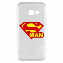 Чехол для Samsung A3 2017 Super Man
