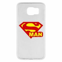 Чохол для Samsung S6 Super Man