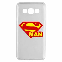 Чехол для Samsung A3 2015 Super Man