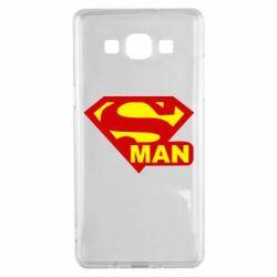 Чехол для Samsung A5 2015 Super Man