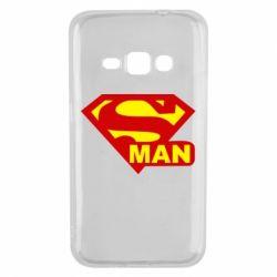 Чехол для Samsung J1 2016 Super Man