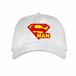Детская кепка Super Man - FatLine