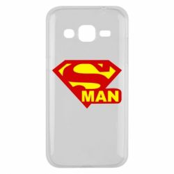Чехол для Samsung J2 2015 Super Man