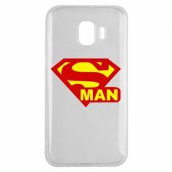 Чехол для Samsung J2 2018 Super Man