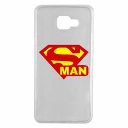 Чехол для Samsung A7 2016 Super Man