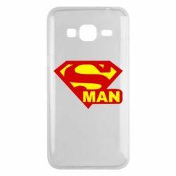 Чехол для Samsung J3 2016 Super Man