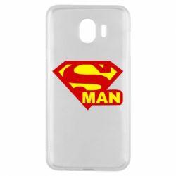 Чехол для Samsung J4 Super Man
