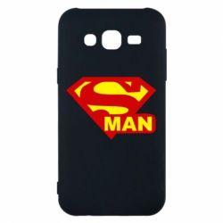 Чехол для Samsung J5 2015 Super Man