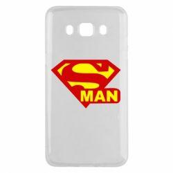 Чехол для Samsung J5 2016 Super Man