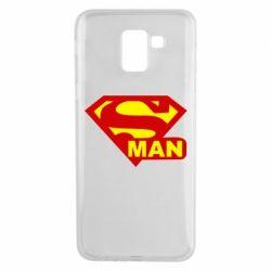 Чехол для Samsung J6 Super Man
