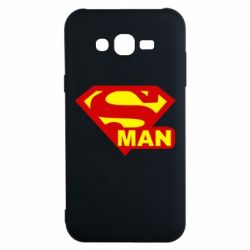 Чехол для Samsung J7 2015 Super Man