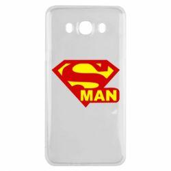 Чехол для Samsung J7 2016 Super Man